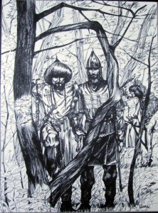 «Русский и булгарский князья на разведке»
